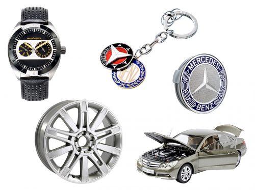 Aufnahme zum neuen Katalog für Mercedes Benz Accessories - Daimler Benz
