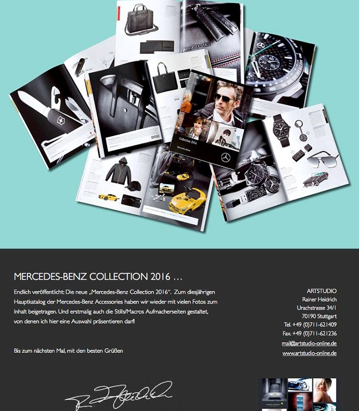 Mercedes Benz Collection 2016