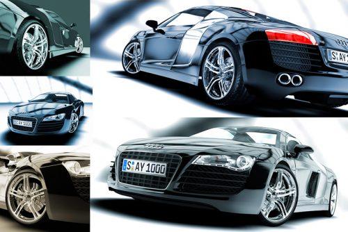 CGI / 3D - Audi R8