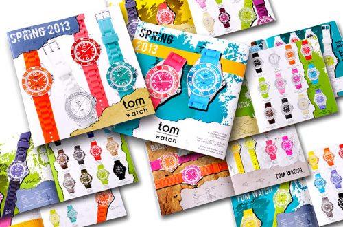 Tom Watch Uhren Gesamtkatalog - Konzeption, Fotografie, Grafik - Für einen grossen, deutschen Schmuck- und Uhren Versender