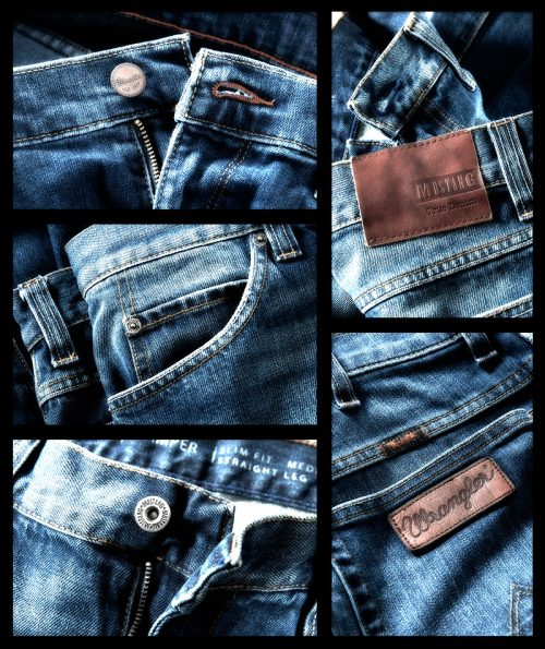 Jeansmode - Closeup